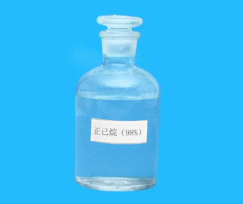 正己烷(98%)、萃取剂、粘合剂、分析纯
